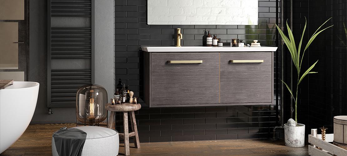 Hotel spa bathroom design by Crosswater
