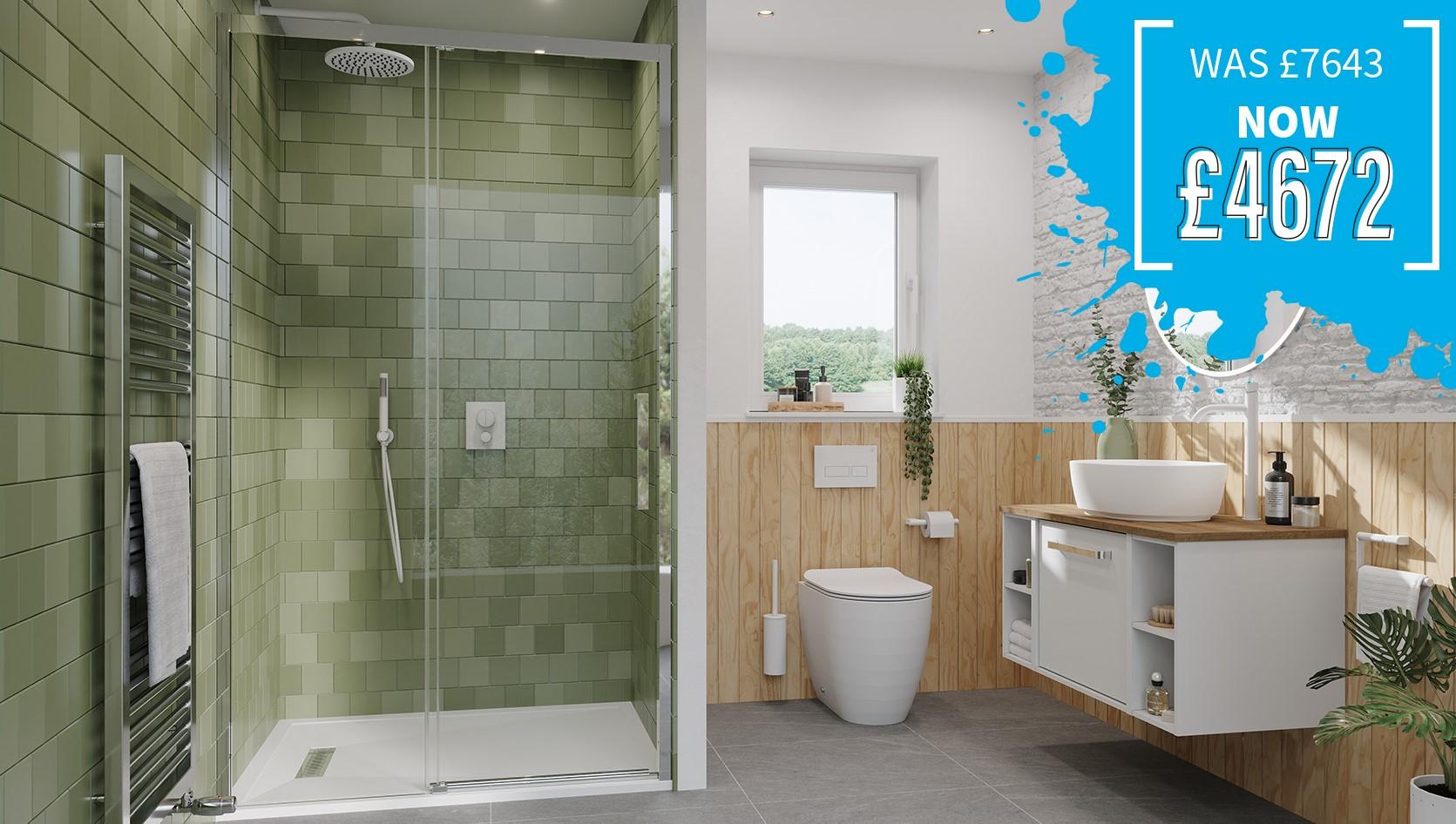 Soothing Scandi Main Bathroom