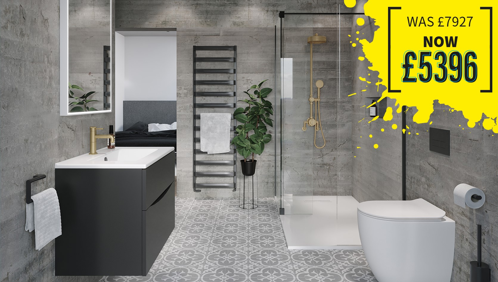 Spa-Inspired Ensuite