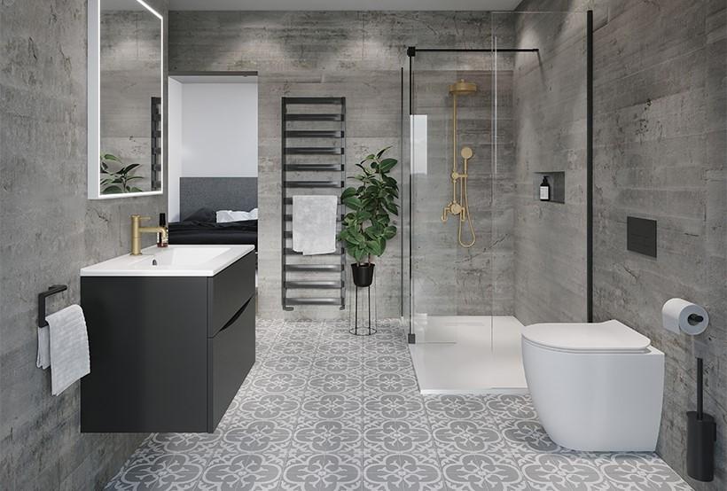 Spa-Inspired Ensuite Bathroom