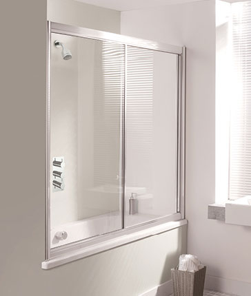 bath screens luxury bathrooms uk crosswater holdings 800x1450mm frameless shower screen over bath swing panel