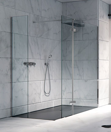 Shower enclosures by type luxury bathrooms uk for Types of walk in showers