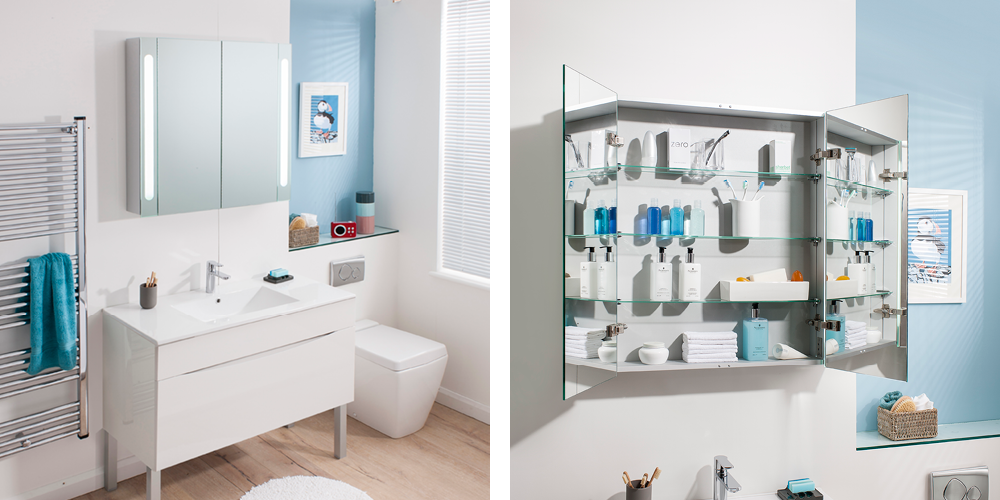 for a stylish storage solution our bauhaus 800 aluminum cabinet comes in a variety of single double or triple door styles providing a versatile bathroom