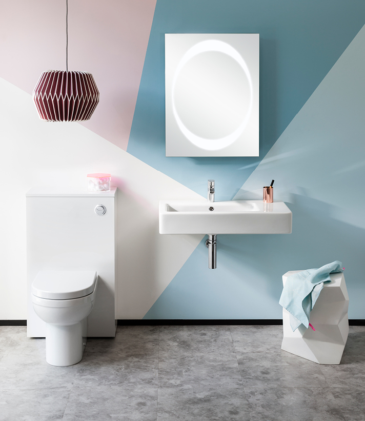 Playful Pastels | Luxury bathrooms UK, Crosswater Holdings
