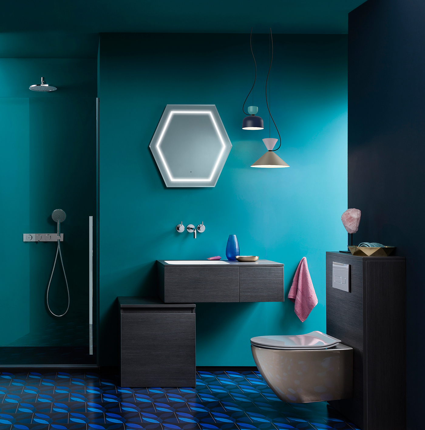 Get The Look Teal Appeal Luxury Bathrooms Uk