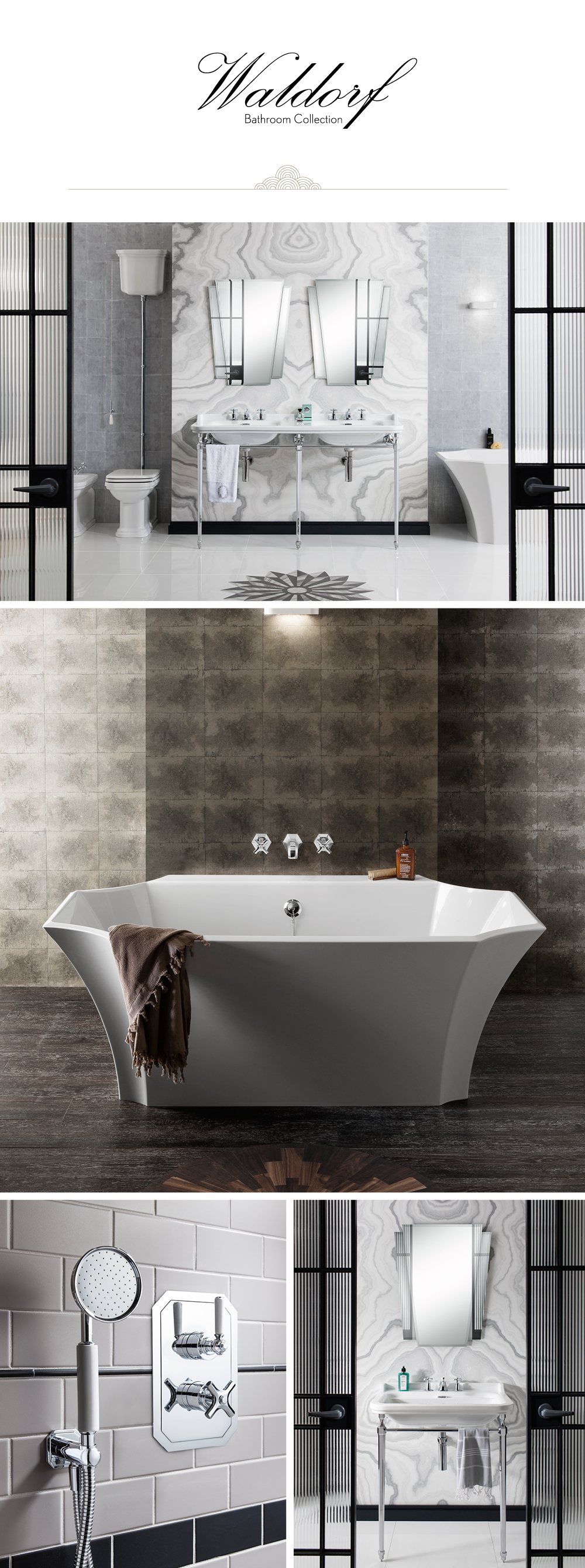 Introducing Waldorf - The First Complete Bathroom Collection from ...