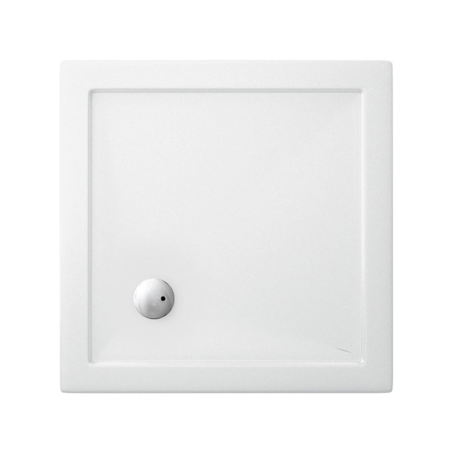 Square 35mm Acrylic Shower Trays in 35mm Acrylic | Luxury bathrooms ...