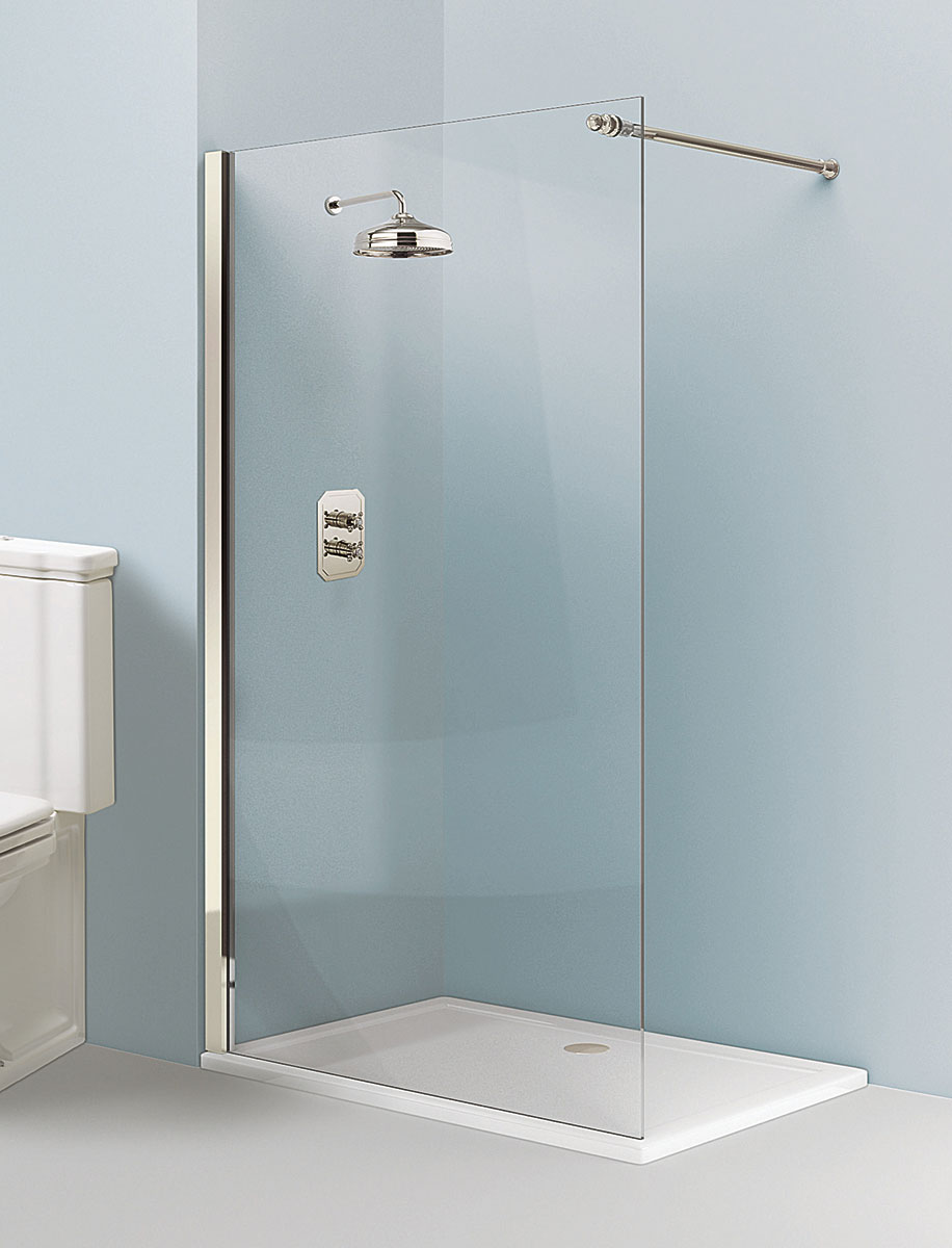 arcade walk in easy access shower enclosure