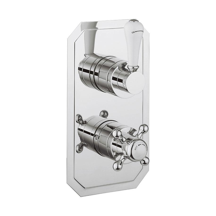 belgravia lever thermostatic shower valve 2 way diverter. Black Bedroom Furniture Sets. Home Design Ideas