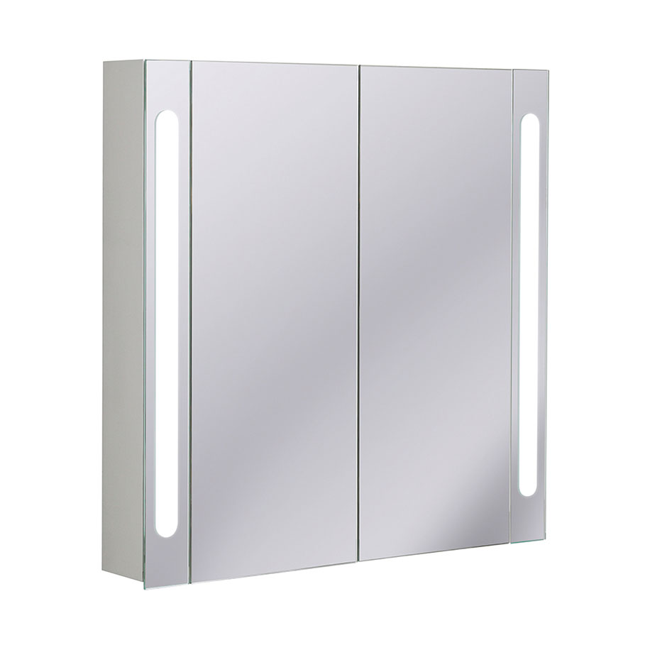 Electric Mirrored Cabinet 800 In Electric Lit Mirrored Cabinets Luxury Bathrooms Uk