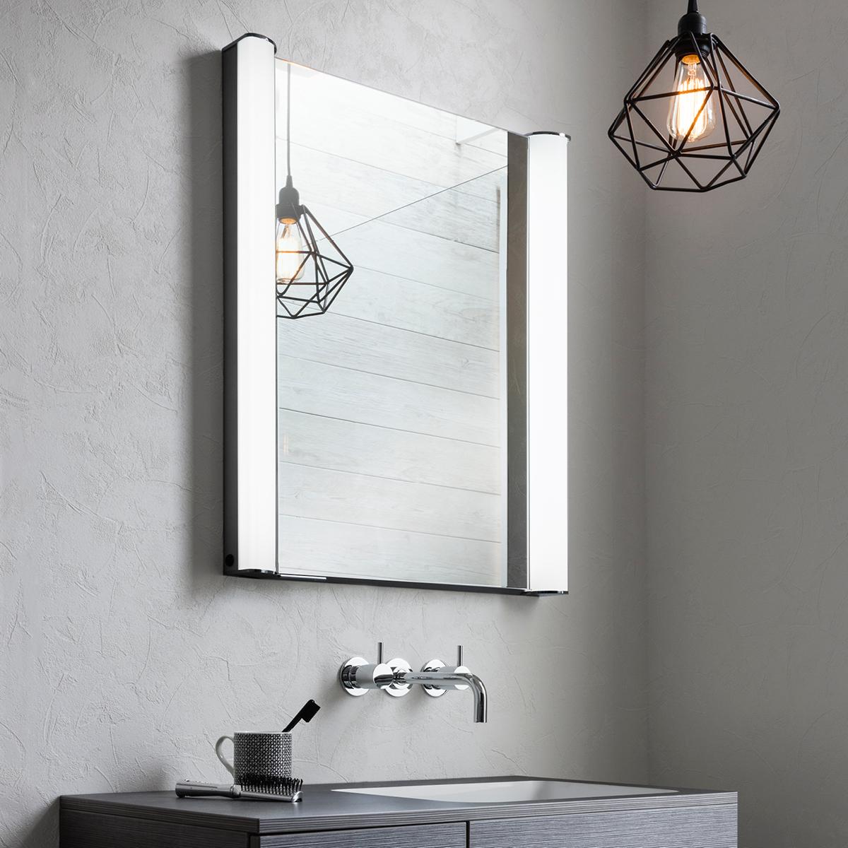 Duo 600 Illuminated Mirrored Cabinet in Duo | Luxury ...