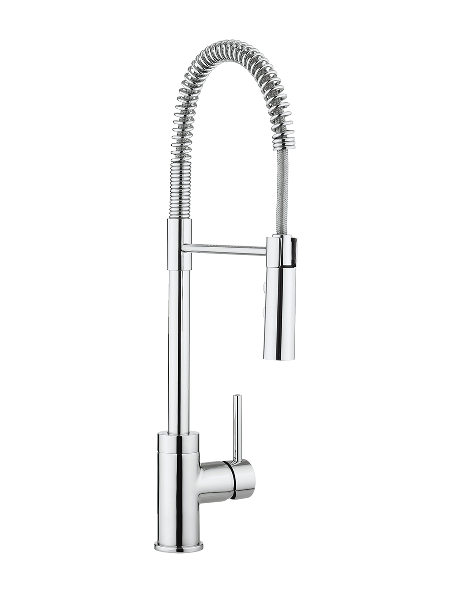 Cook side lever kitchen mixer with flexi spray in Cook | Luxury ...