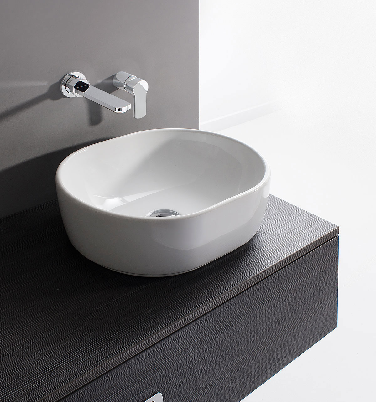 Pearl Basin In Countertop Luxury Bathrooms Uk