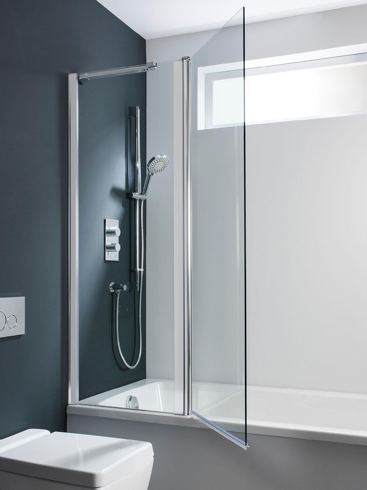 Design Double Bath Screen Outward Opening In Design