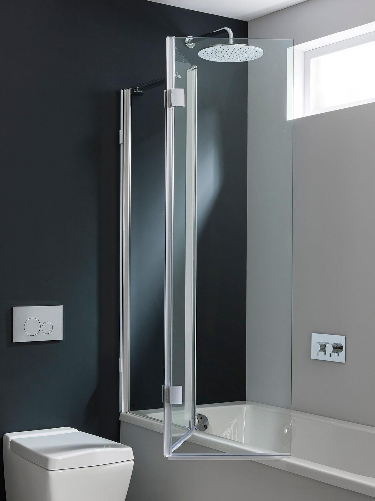 Design Triple Bath Screen in Frameless | Luxury bathrooms UK ...