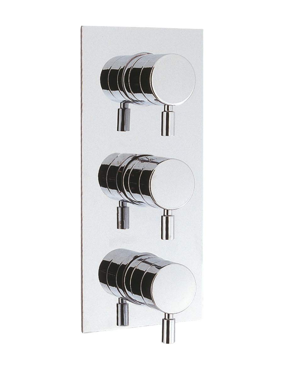 Design Thermostatic Shower Valve With 3 Way Diverter In Diverter Valves |  Luxury Bathrooms UK, Crosswater Holdings