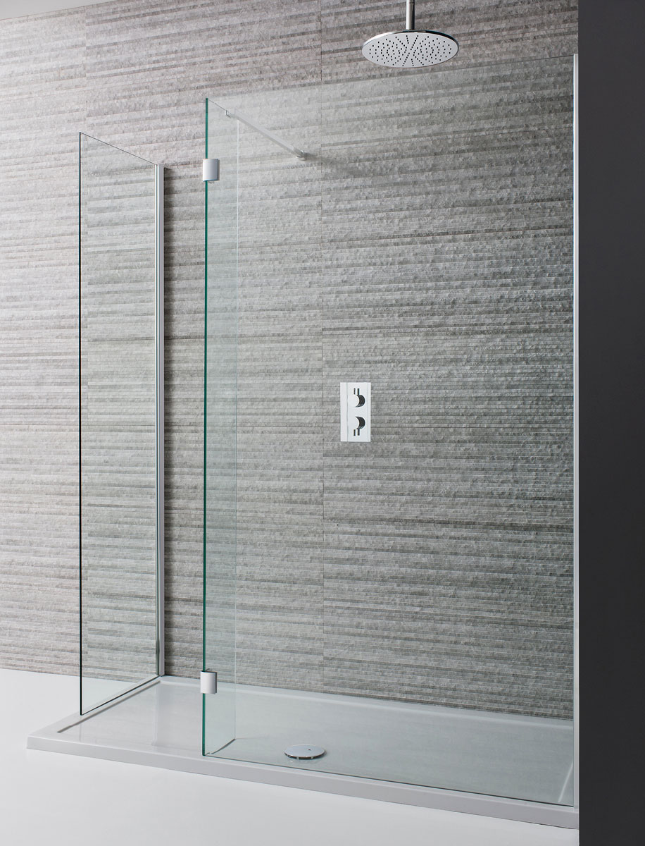 Design Two Sided Walk In Shower Enclosure in Design | Luxury ...