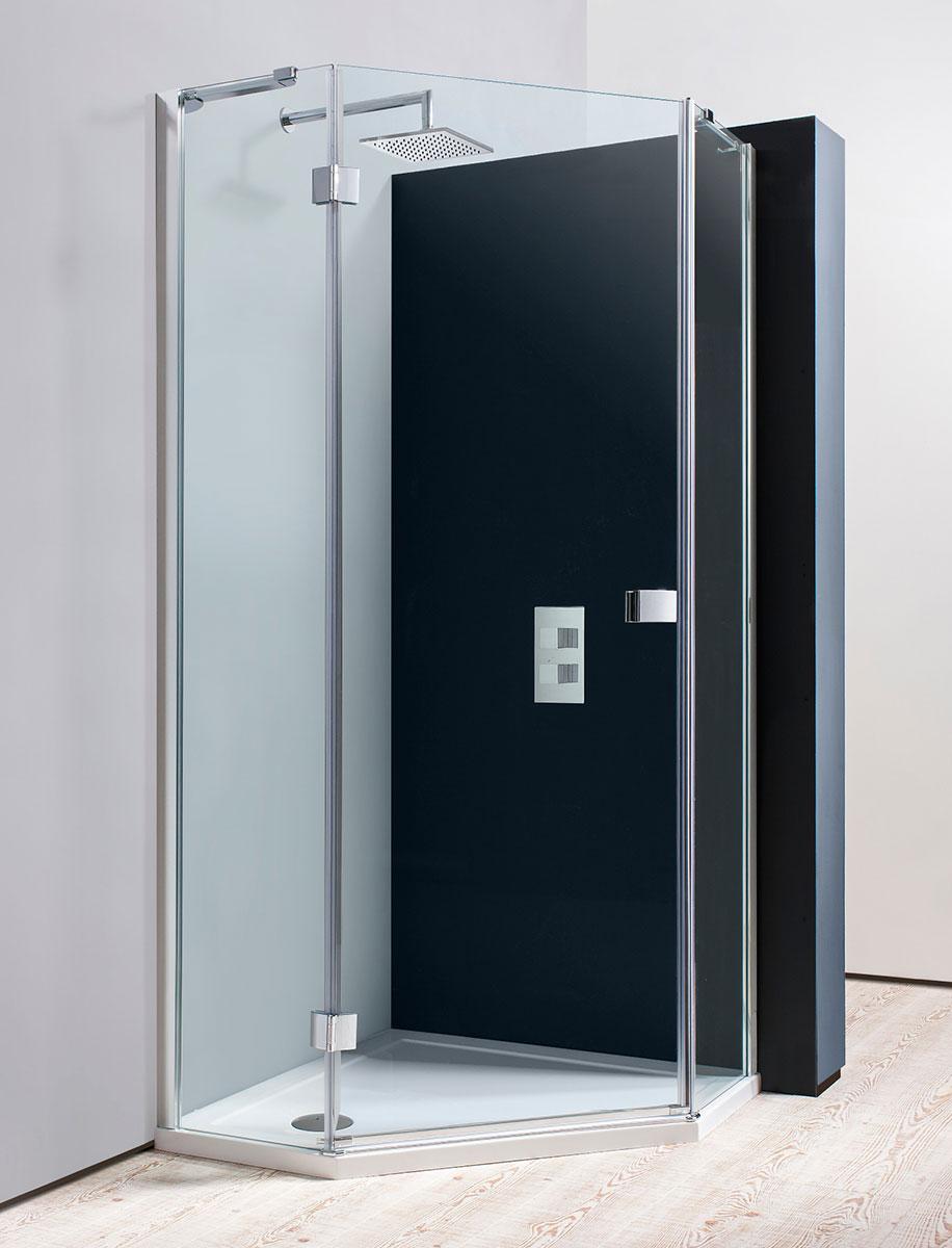Design Pentagon Shower Enclosure in Shower Calculator | Luxury ...