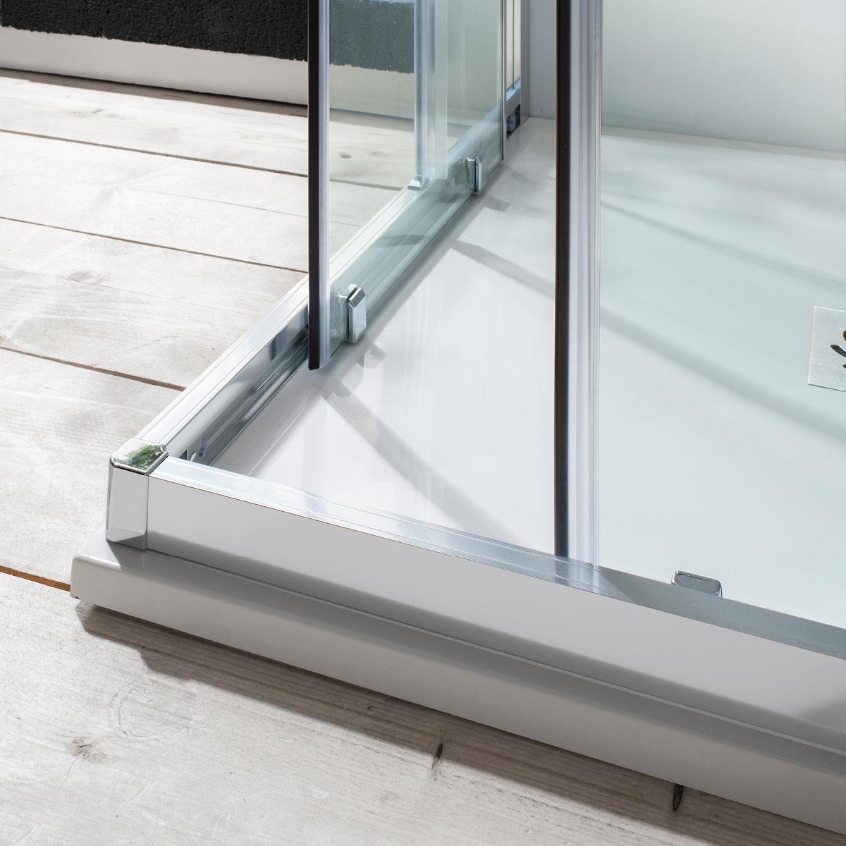 Edge Corner Entry Shower Enclosure In Edge Luxury