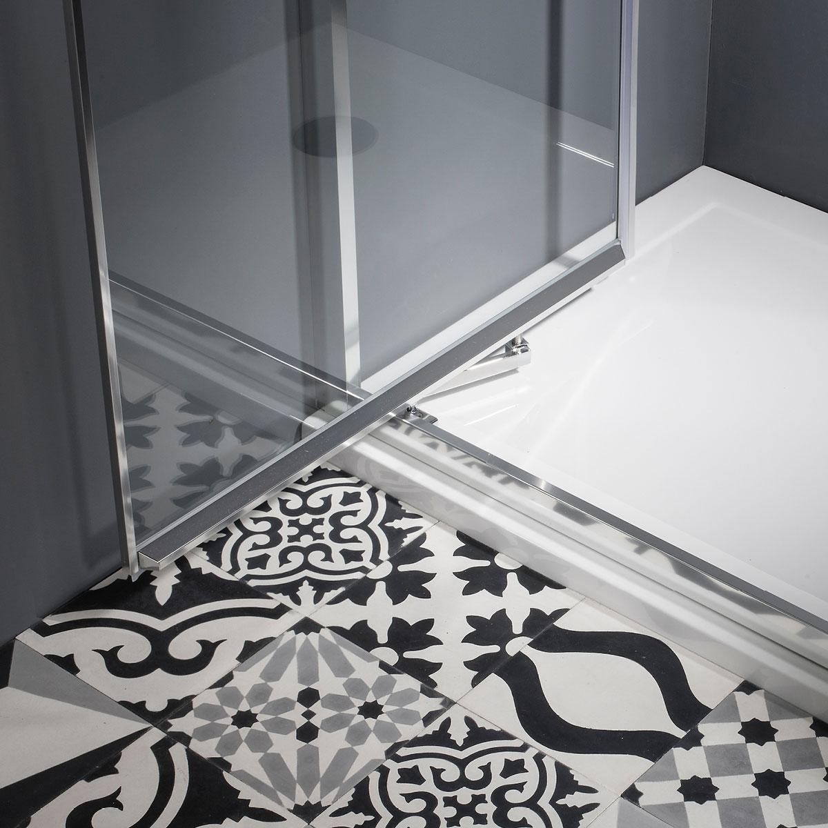 Edge Infold Shower Door In Infold Door Luxury Bathrooms