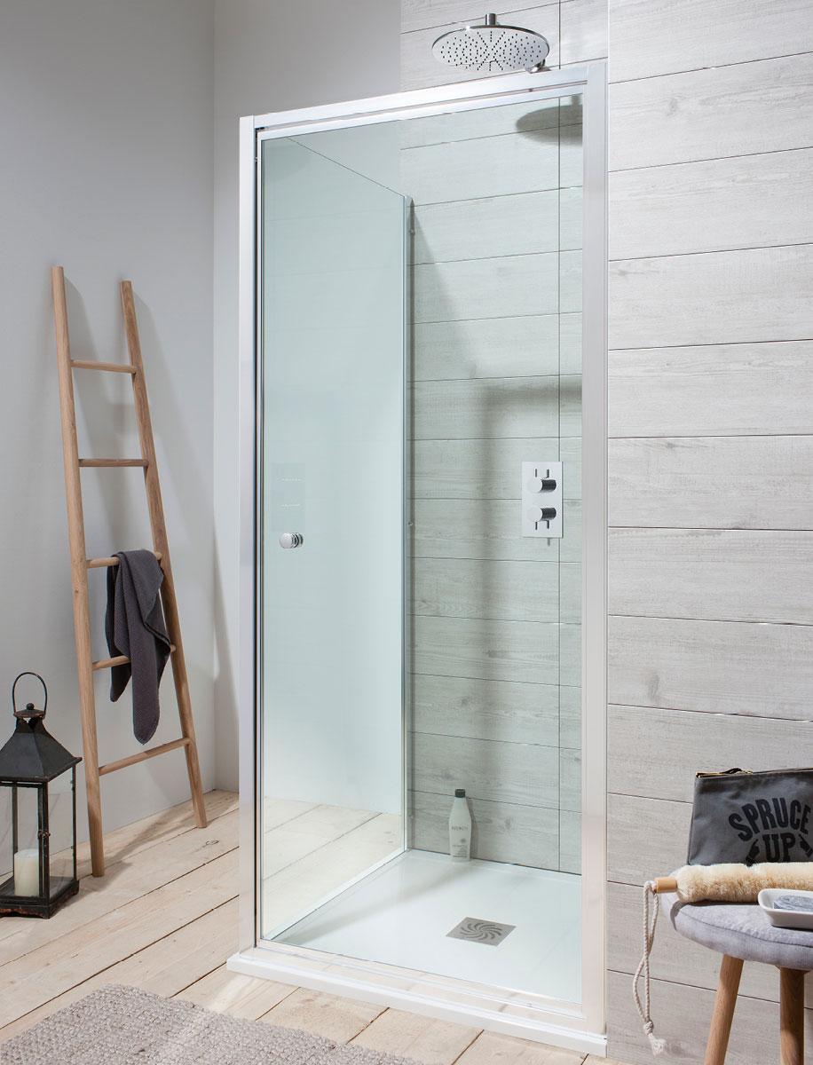 Edge Pivot Shower Door in Pivot Door | Luxury bathrooms UK ...