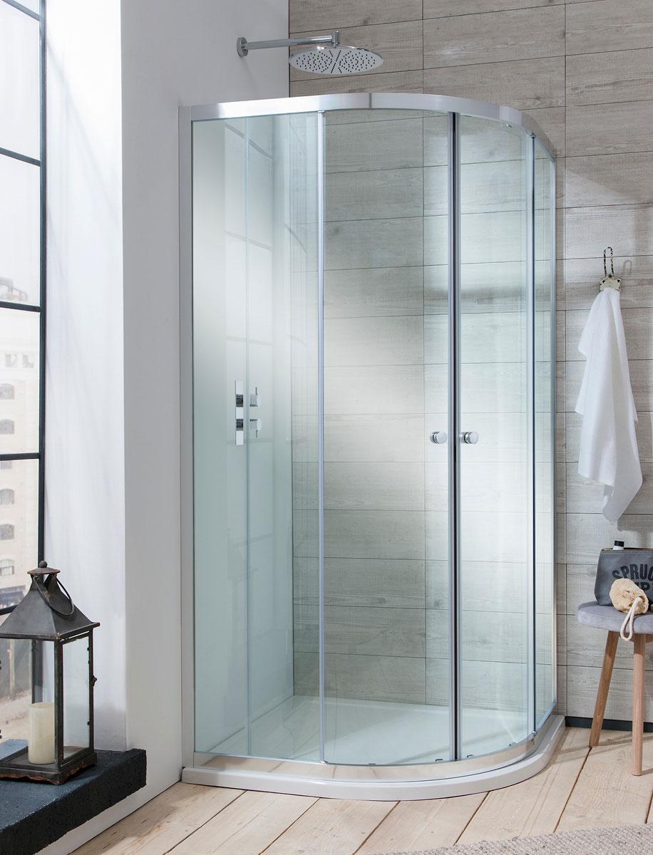 Edge Quadrant Double Door Shower Enclosure in Edge | Luxury ...