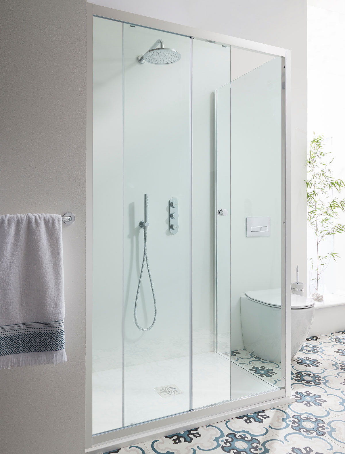 Edge Single Slider Shower Door In Sliding Door Luxury