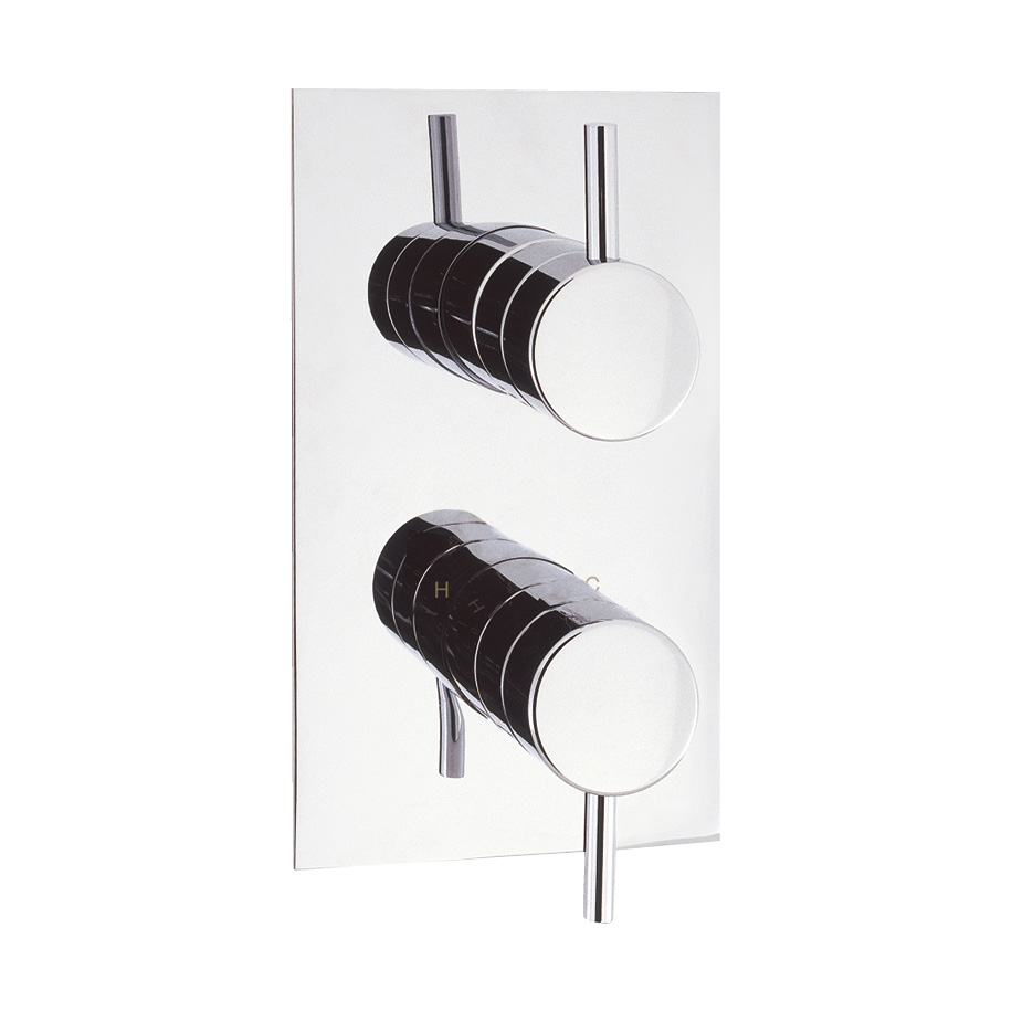 Elite thermostatic shower valve with 2 way diverter in WRAS/KIWA ...