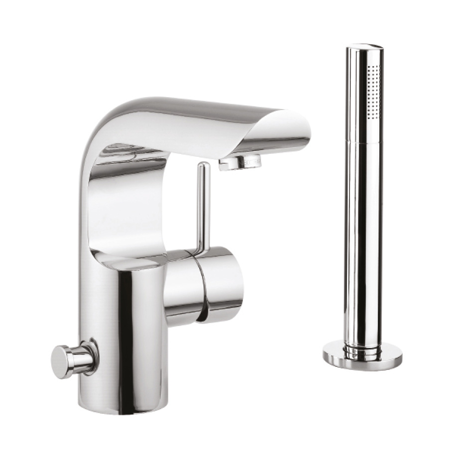 Elite Bath Shower Mixer With Kit In Elite Luxury
