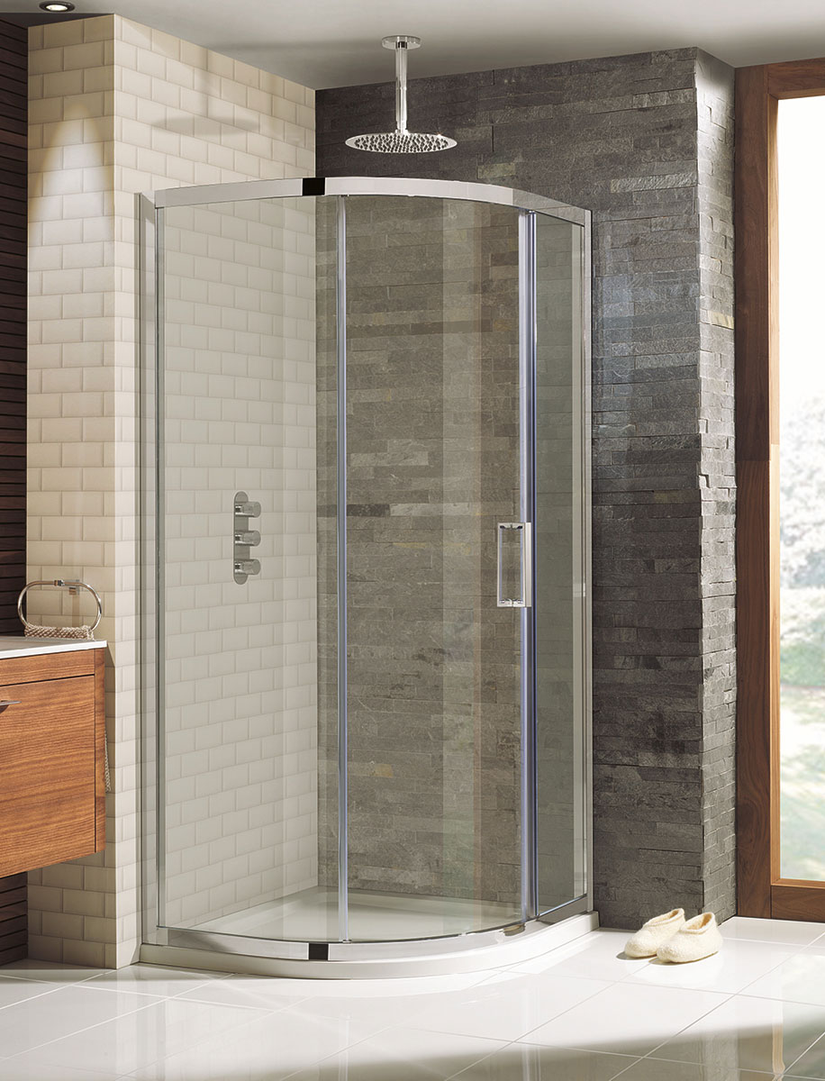 Elite Quadrant Single Door Shower Enclosure in Elite | Luxury ...