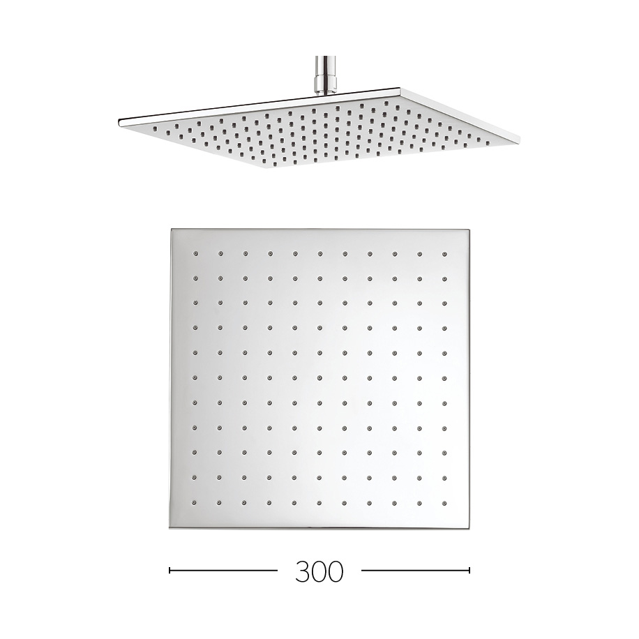 Zion 300mm showerhead in modern luxury bathrooms uk for Modern zion kitchen