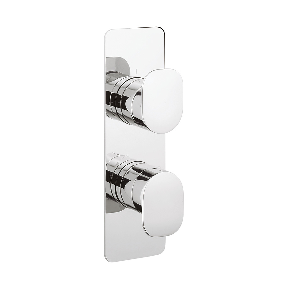 KH ZERO 2 Thermostatic Shower Valve With 2 Way Diverter In KH ZERO 2 |  Luxury Bathrooms UK, Crosswater Holdings