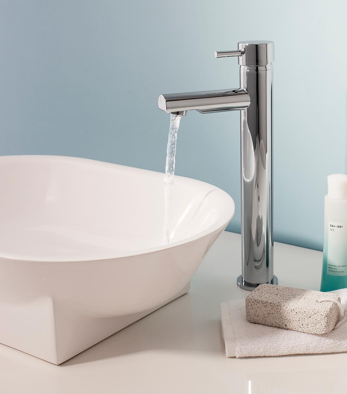Kai Lever basin tall monobloc in Kai Lever | Luxury bathrooms UK ...