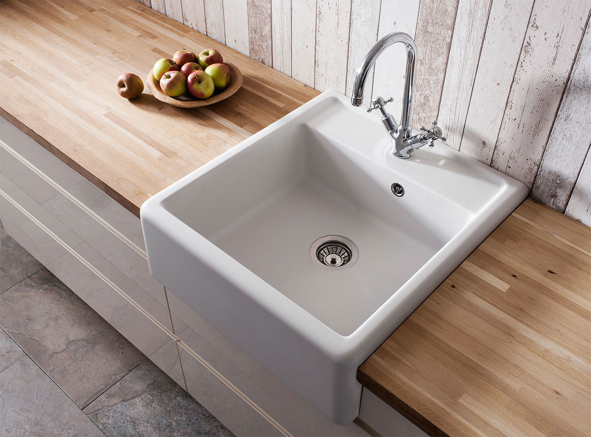 Belgravia Semi Inset Belfast Kitchen Sink In Belgravia