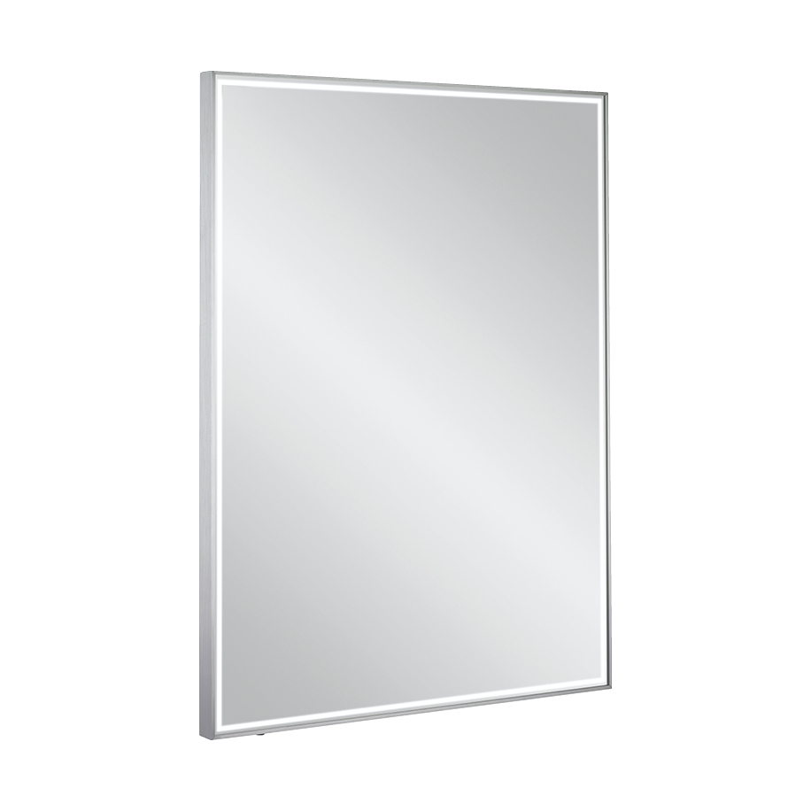 Mpro lit mirror 60 x 80 in illuminated mirrors luxury for Mirror 60 x 80