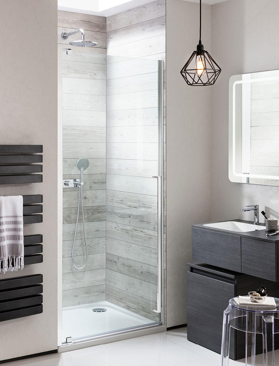 Pier Hinged Shower Door in Pier | Luxury bathrooms UK ...