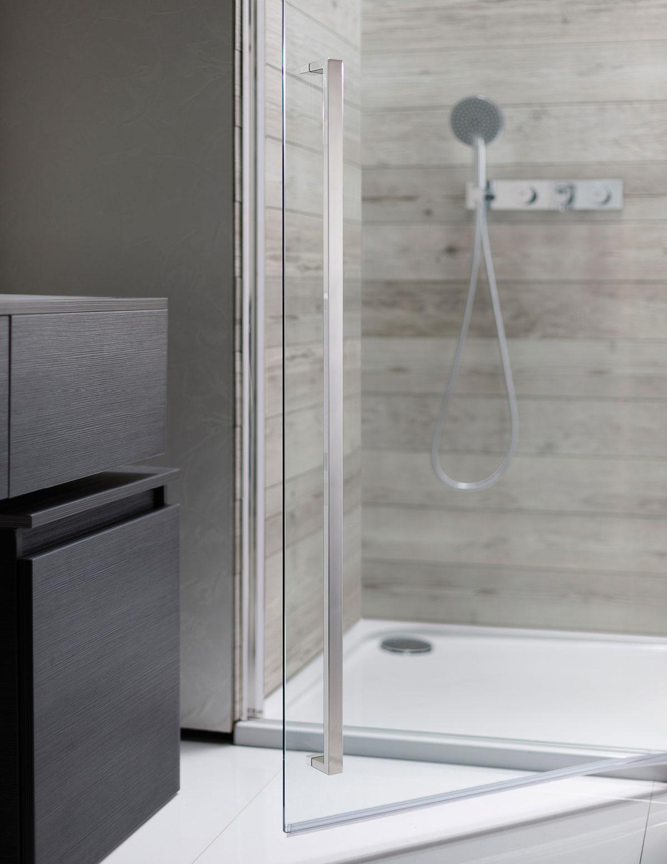 Pier Hinged Shower Door In Pier Luxury Bathrooms Uk