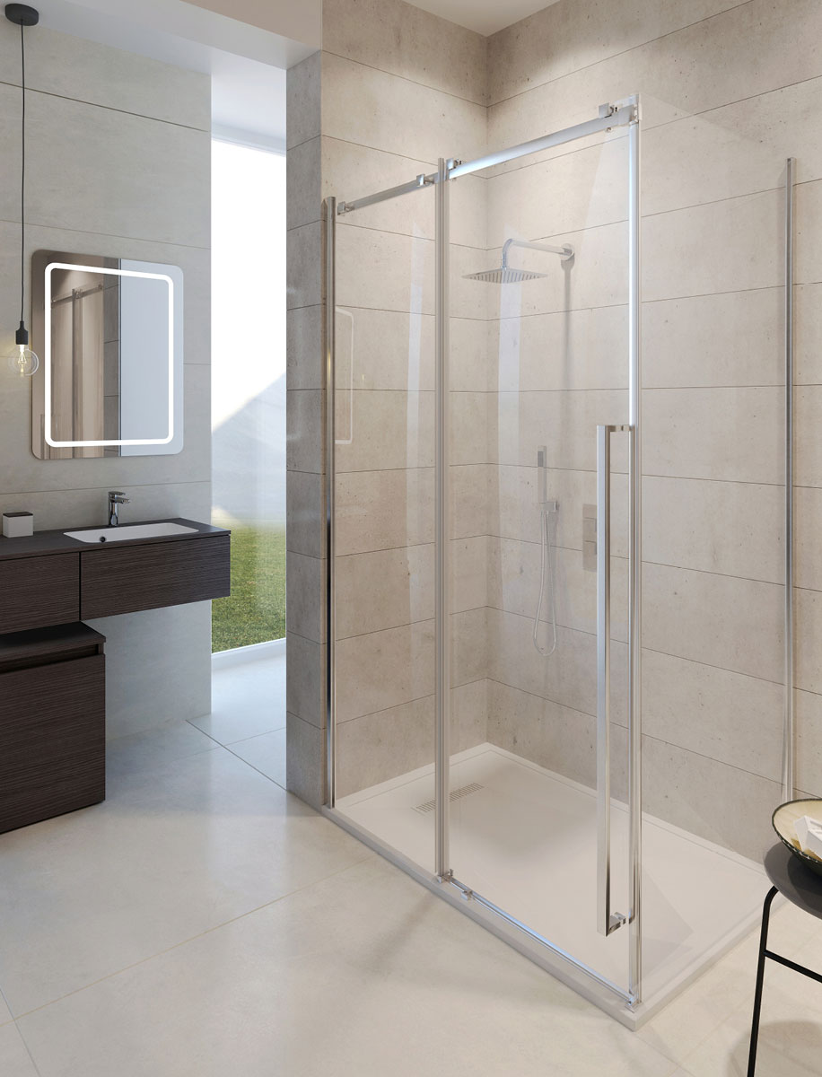 Pier Sliding Shower Door In Pier Luxury Bathrooms Uk Crosswater Holdings