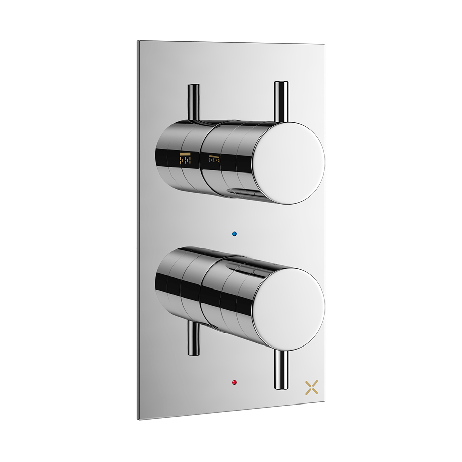 Mpro Thermostatic Shower Valve With 2 Way Diverter In Mpro