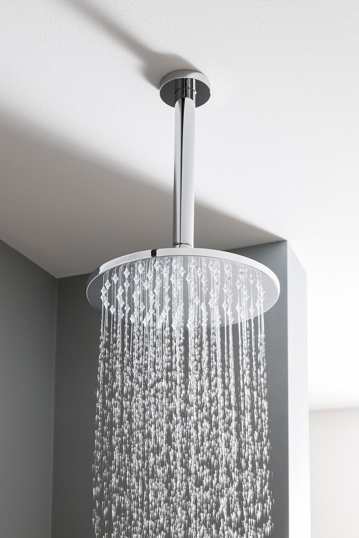 Mpro 200mm Showerhead In Round Luxury Bathrooms Uk
