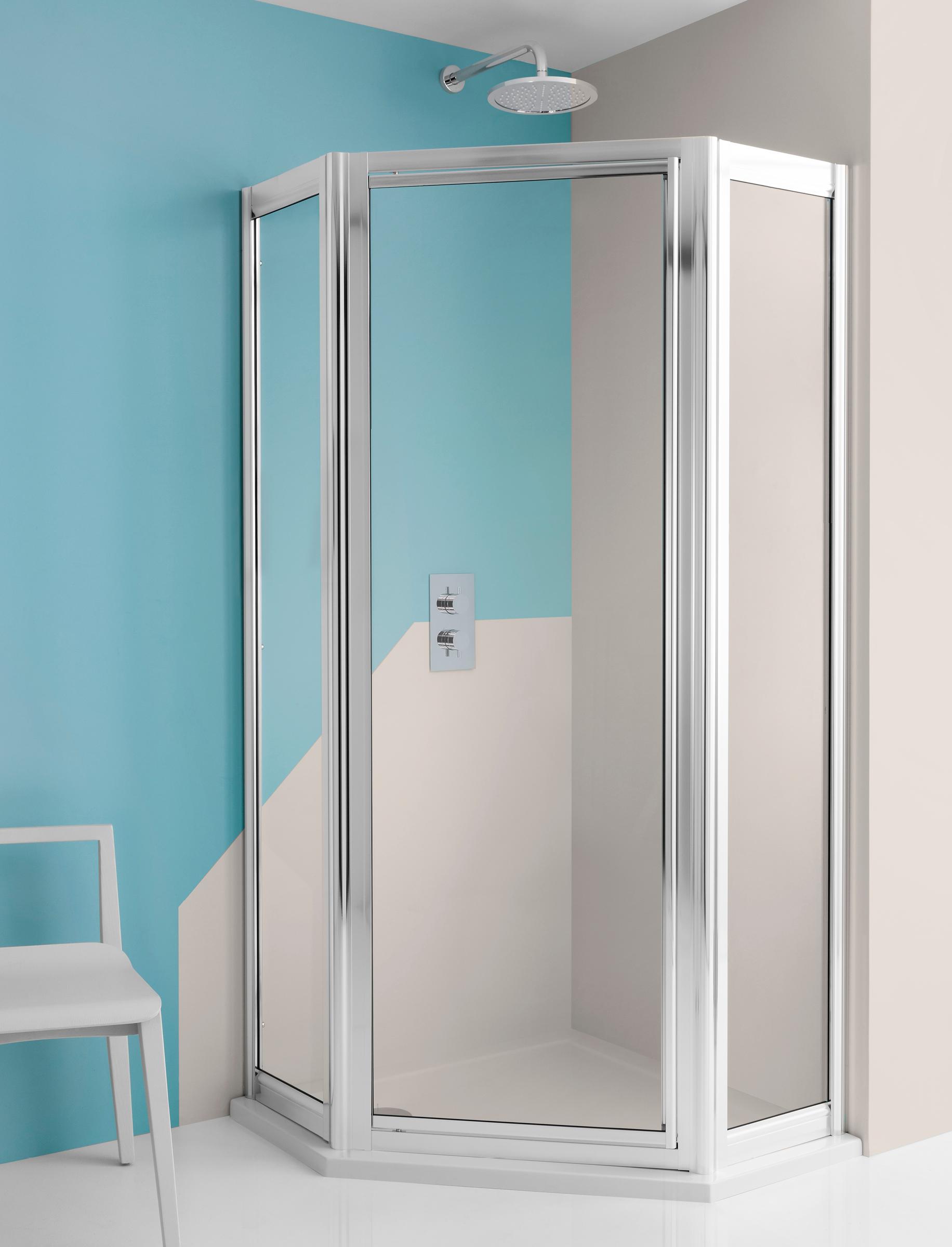Supreme Pentagon Shower Enclosure in Framed | Luxury bathrooms UK ...
