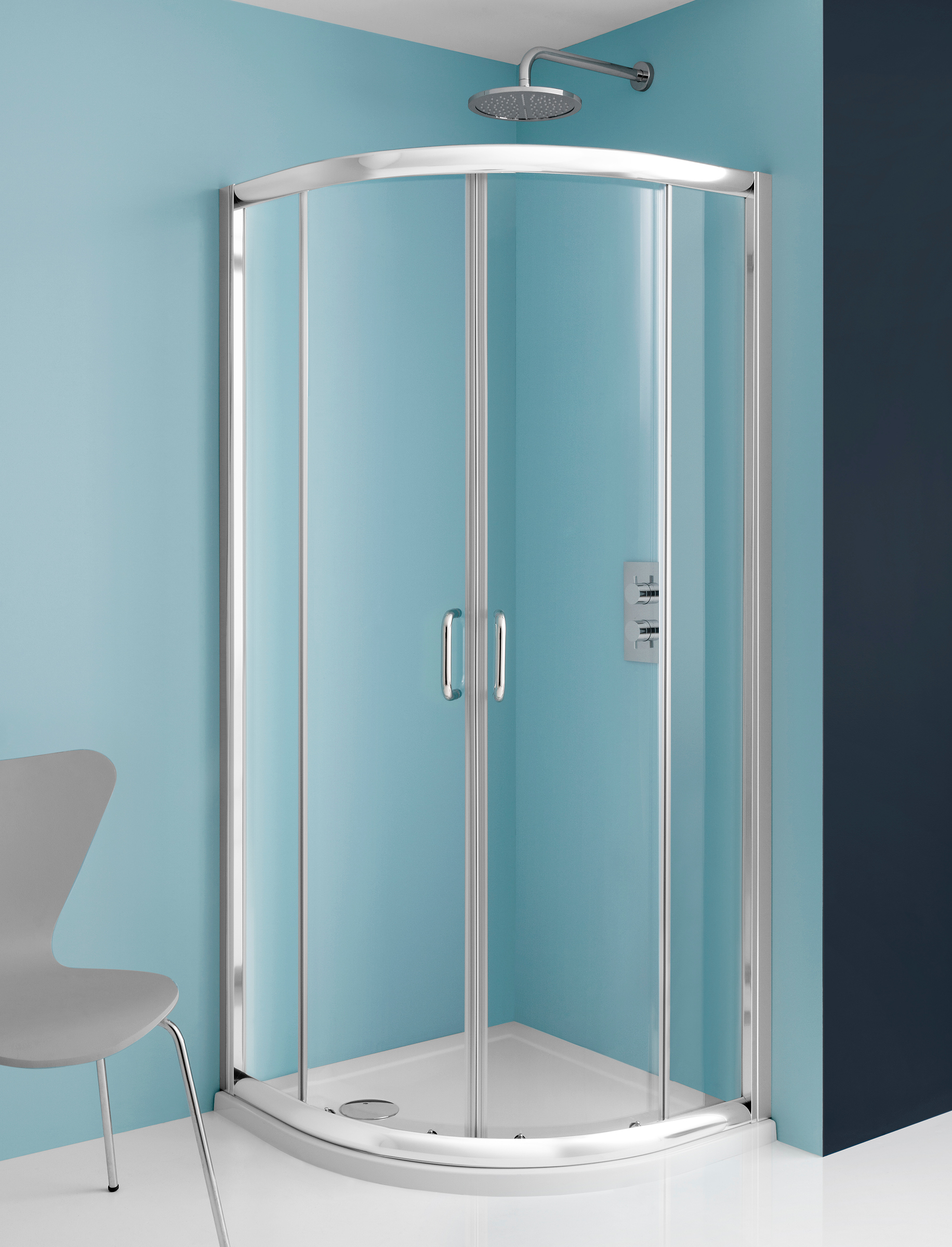 Supreme Quadrant Double Door Shower Enclosure in Supreme | Luxury ...