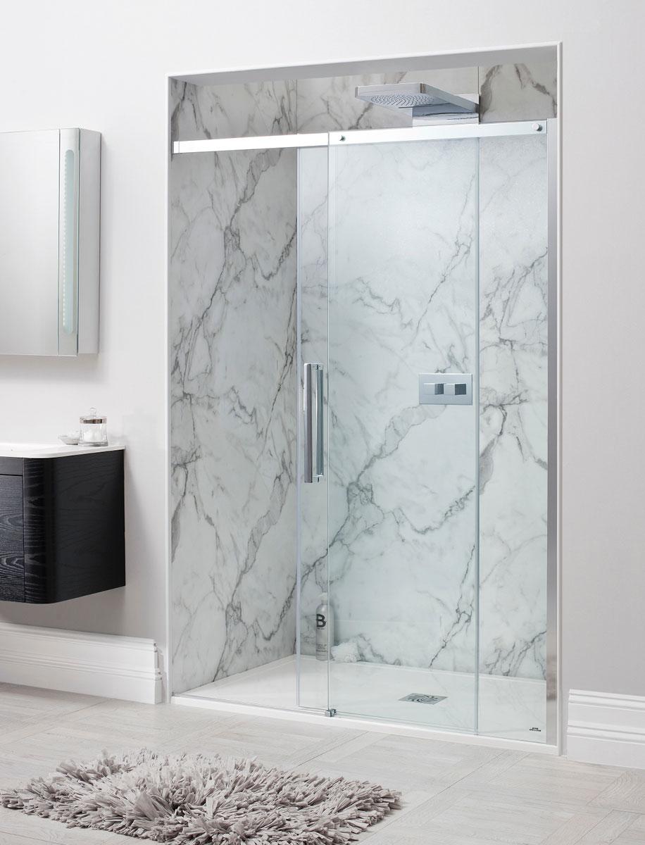 Ten Single Slider Shower Door in Sliding Door   Luxury bathrooms ...