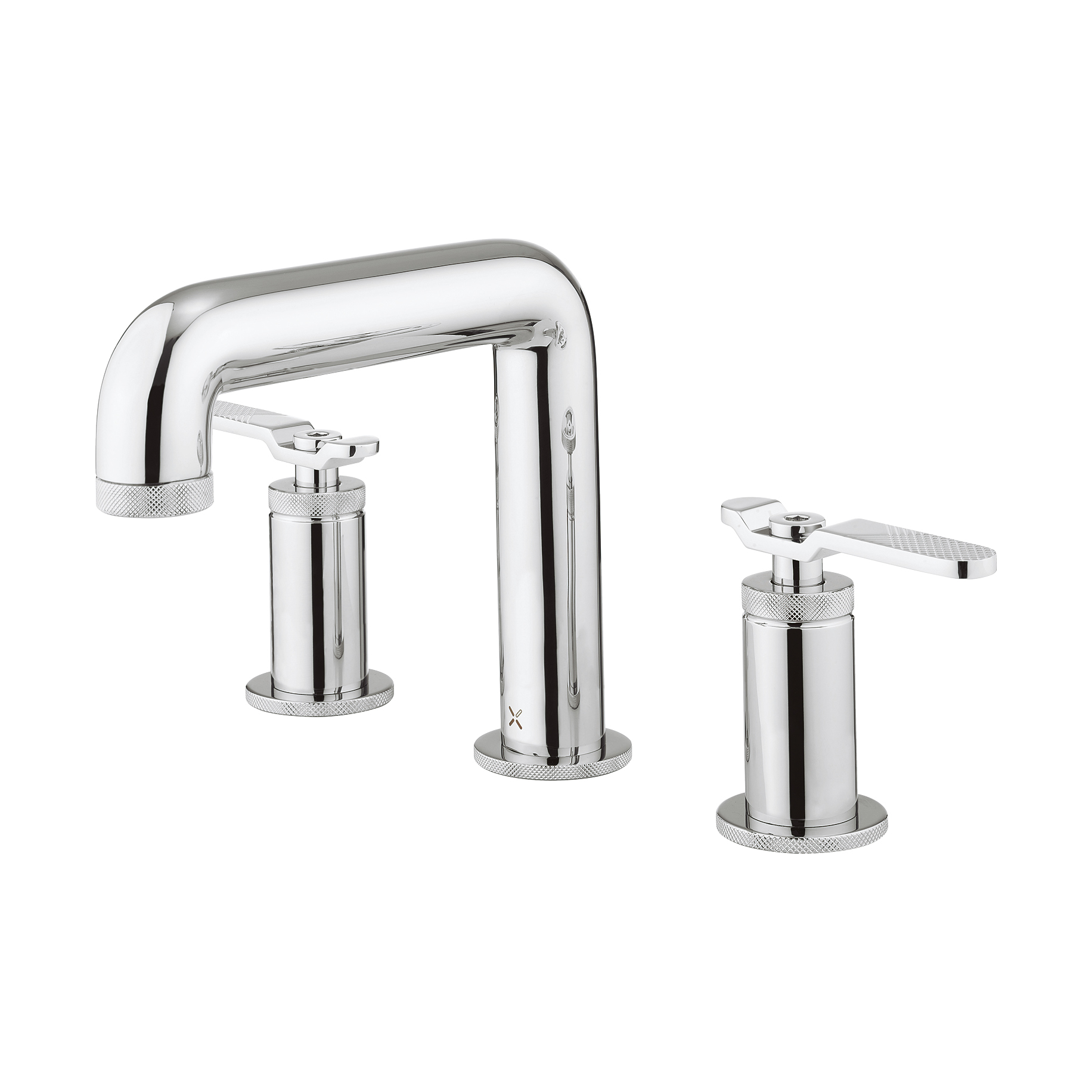 UNION three hole deck mounted basin set levers in Basin Taps ...