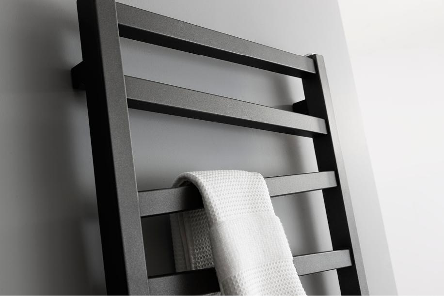 Wedge Towel Warmer 500 X 1096mm In Wedge Luxury