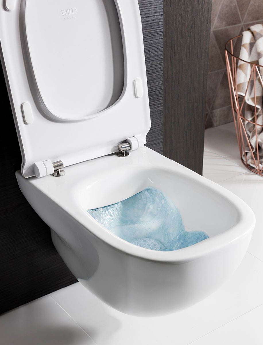 Wild Rimless Wall Hung Wc Amp Soft Close Seat In Wild