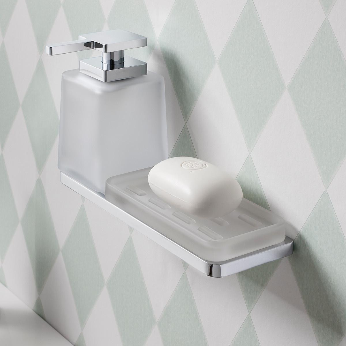 Wisp triple wall holder in Tumbler Holders | Luxury bathrooms UK ...