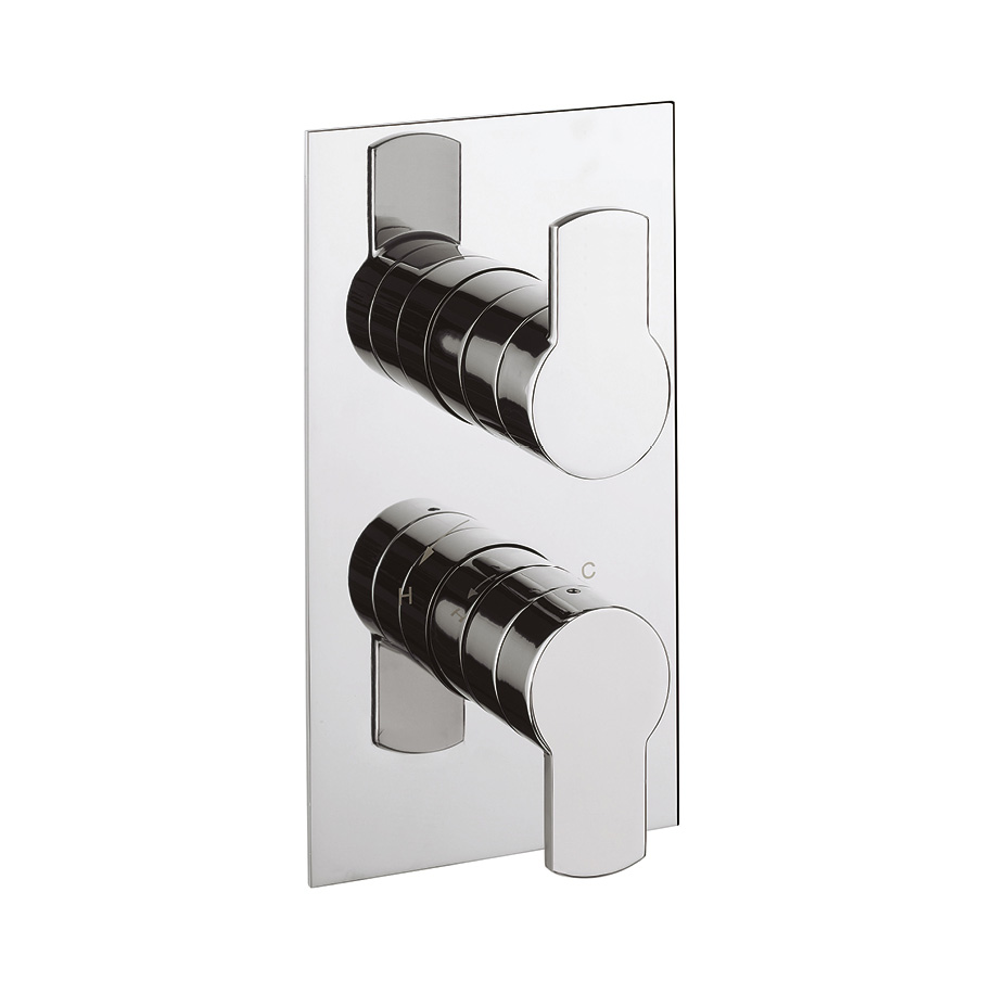Superb Wisp Thermostatic Shower Valve With 2 Way Diverter In Wisp | Luxury  Bathrooms UK, Crosswater Holdings