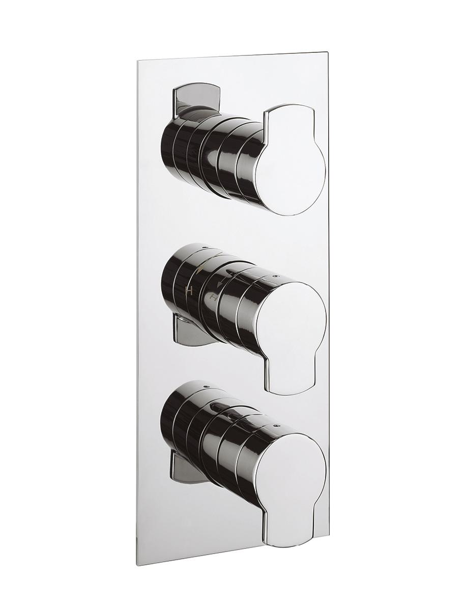 Wisp thermostatic shower valve 3 control in Wisp | Luxury bathrooms ...