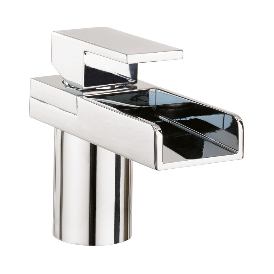 Arcade Monobloc Basin Mixer Tap - Nickel - Various Tap Head Options